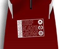 Surf skate snow | design