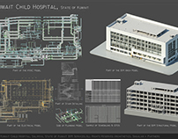 Part of Kuwait Child Hospital BIM Model
