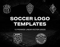 Free Linear Soccer Logos