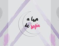 """Cartaz """"A lua de Sofia"""""""