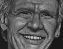 Harrison Ford - Fast Paint