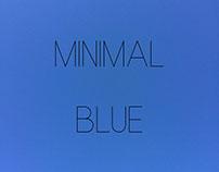 Minimal Blue