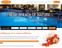 Website design with Online Booking System.