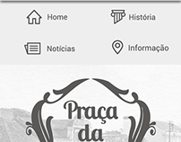 Website Praça da Fruta