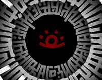 Labyrinth calligraphy; part I
