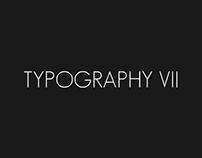 Misc. typography. Part VII