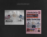 Derby Heritage   La Gazzetta dello Sport   Artwork