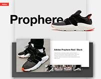 Adidas and Nike page