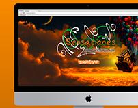Sensaciones Eventos | Diseño de Sitio Web Joomla
