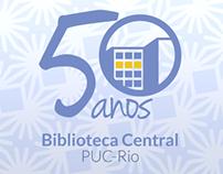 50 anos da Biblioteca Central