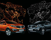 KIA Sportage limited edition. KV