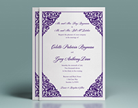 Greg & Colette's Wedding Invitations