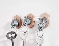 Animal Key Holders