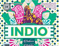 """Diseño de etiqueta para el concurso de """"Barrios Indio"""""""