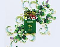 Chicza Chewing Gum Ad Design