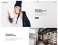 Logancee - Shopify eCommerce Theme