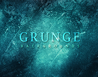 10 Grunge Backgrounds - $3