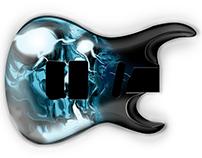 Light Skull Guitar