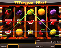 "Online Slot machine for Purchase - ""Mega Hot"""