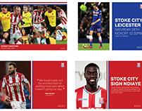 Stoke City Social Media Re-brand