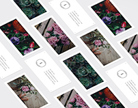 Flowers Followers: flower shop branding