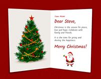 Make your own Christmas Card