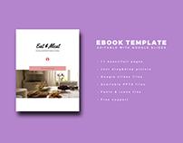 Ebook Template Editable with Google slides