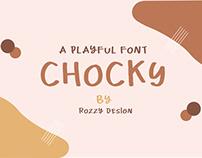 Free | Chocky Font