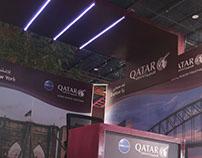 Exhibition Stall Design for Qatar Airways - 04
