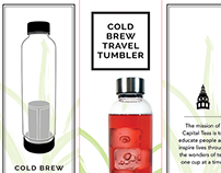 Cold Brew Travel Tumbler