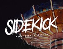 Sidekick - Handmade Font