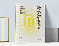 The power of design book design-艺启过年作品集书籍整体设计