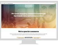 UI/UX for THE SHOP (website/across platform)