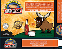 Pie-Mad!   Packaging Design & Illustration