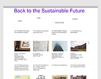 Back to the Sustainable Future, Website Coding