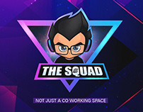 The squad social media campaign and branding