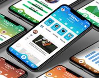 Sports App UI/UX Design