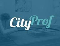 CityProf  Landing page