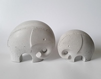 Misija Design // Elephant figures
