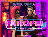 """Karol Conka """"Farofei"""" Artwork"""