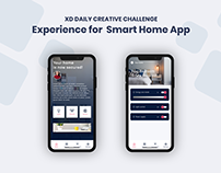 Challenge 03 - Experience for Smart #XDdailychallenge