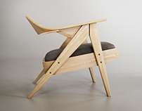 Nils | Lounge Chair