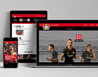 Bayer 04 Website and App Relauch