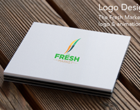 The Fresh Market Logo Design