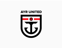 Ayr United FC Redesign Concept