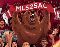 MLS - Sacramento Republic FC Illustration