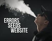 Errors Seeds Ecommerce Website