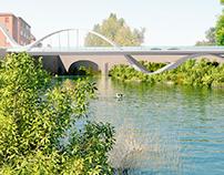 2009 - Puente Cuatro Vientos en Pamplona (Navarra)