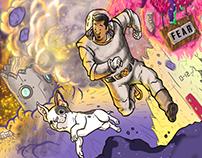 Space storm! (Ilustra)
