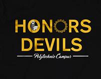 Polytechnic Honors Devils T-Shirt Design